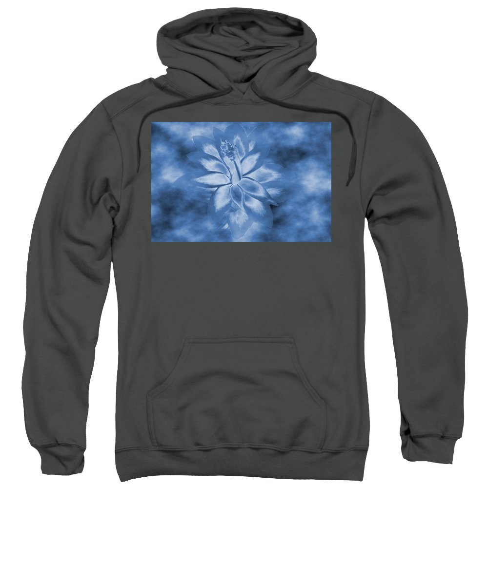 Abstract Sweatshirt featuring the photograph Among The Clouds by Barbara S Nickerson