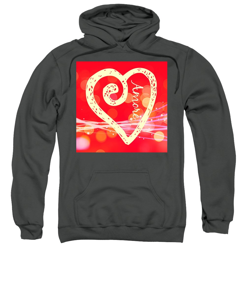Amore Sweatshirt featuring the photograph Amore by Alice Gipson