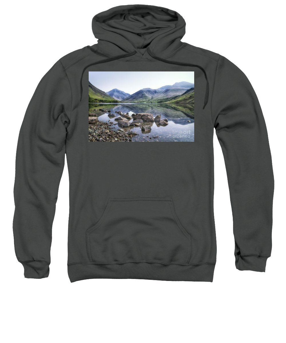 Kremsdorf Sweatshirt featuring the photograph And There Was Peace... by Evelina Kremsdorf