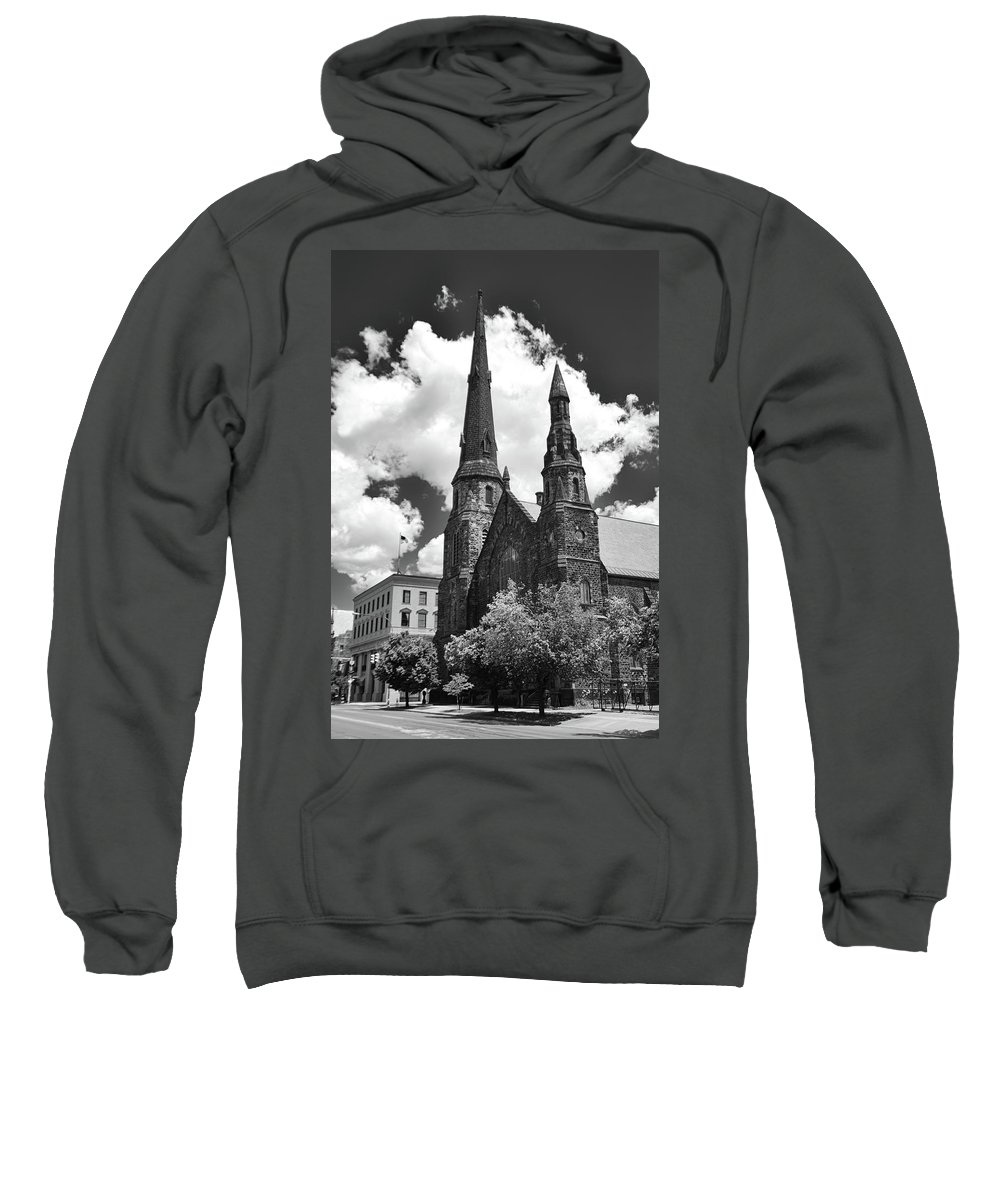Architecture Sweatshirt featuring the photograph Ani's Place 15257 by Guy Whiteley