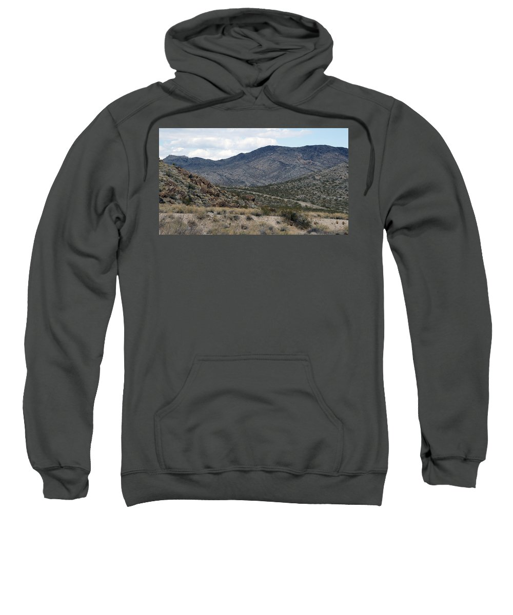 Arizona Sweatshirt featuring the photograph Arizona Mountains by Crystal Harman