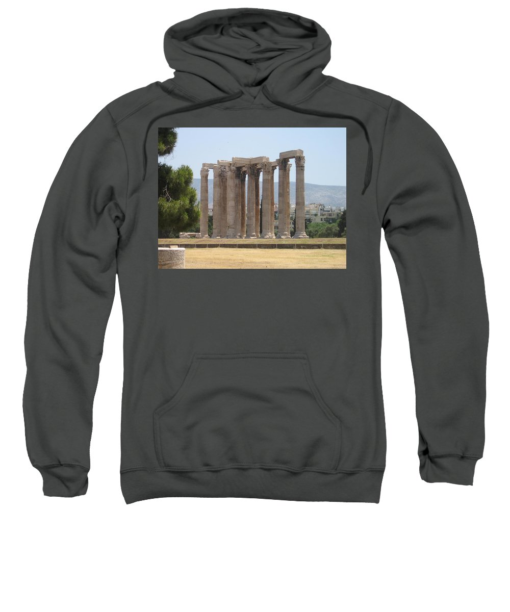 Athens Sweatshirt featuring the photograph Athens 1 by Kimberly Maxwell Grantier