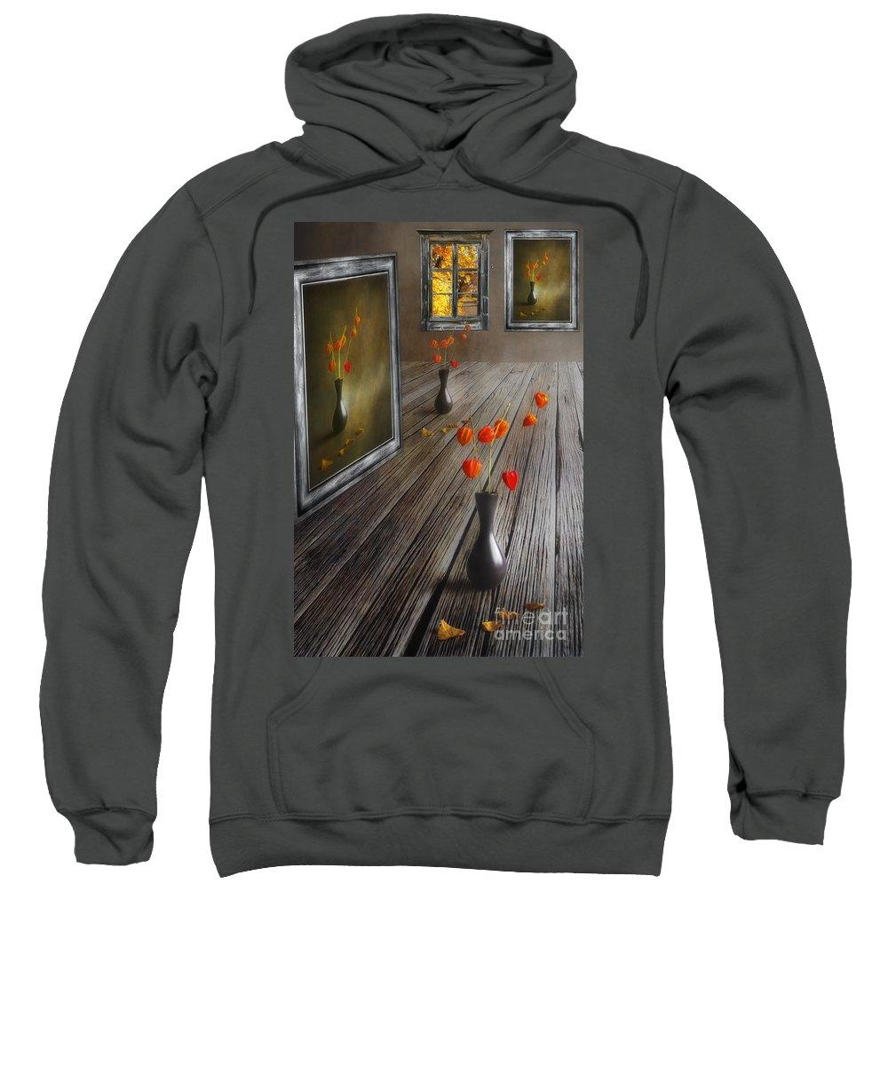 Art Sweatshirt featuring the photograph Autumn Colours by Veikko Suikkanen