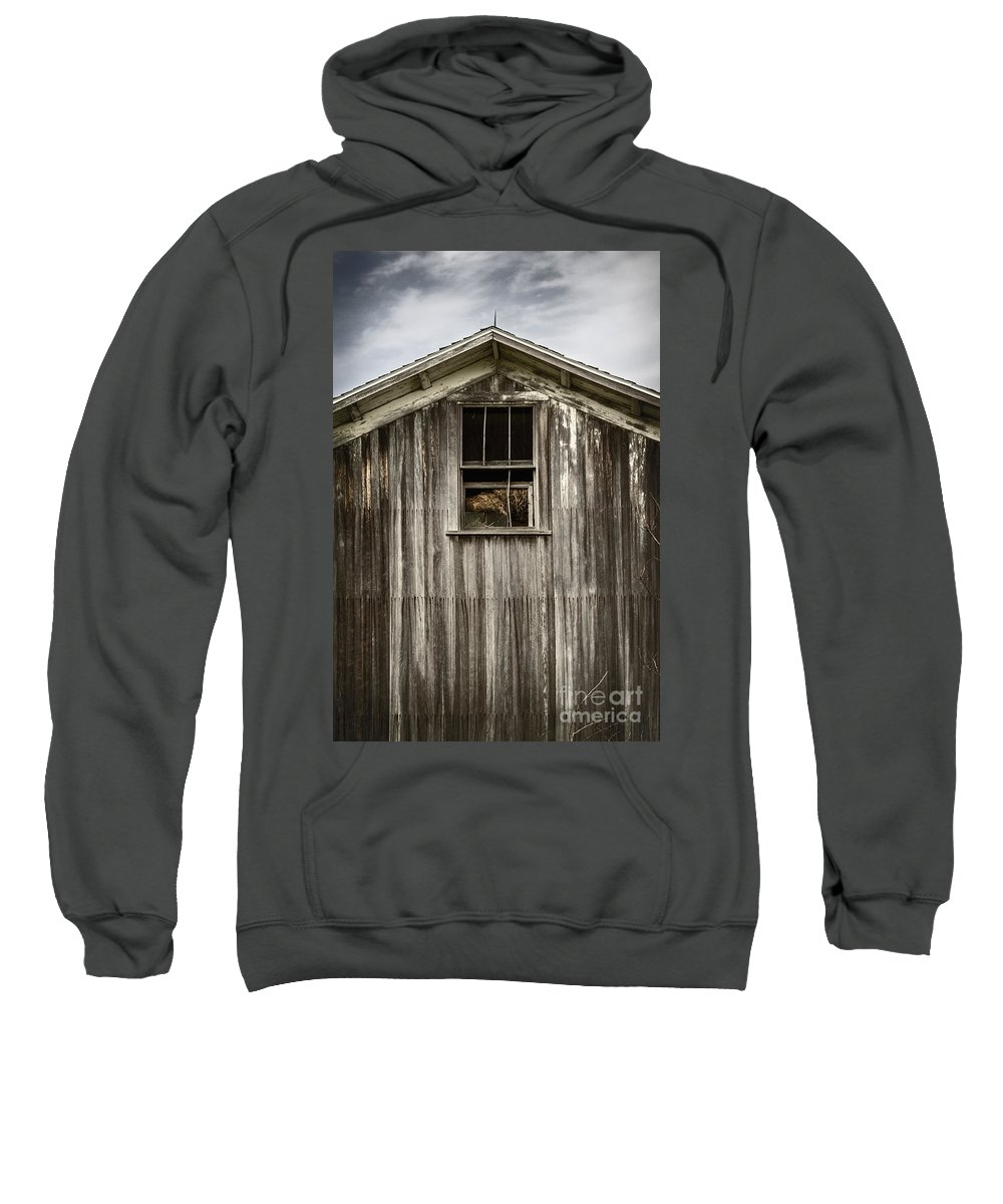 Old Sweatshirt featuring the photograph Barn Window by Margie Hurwich