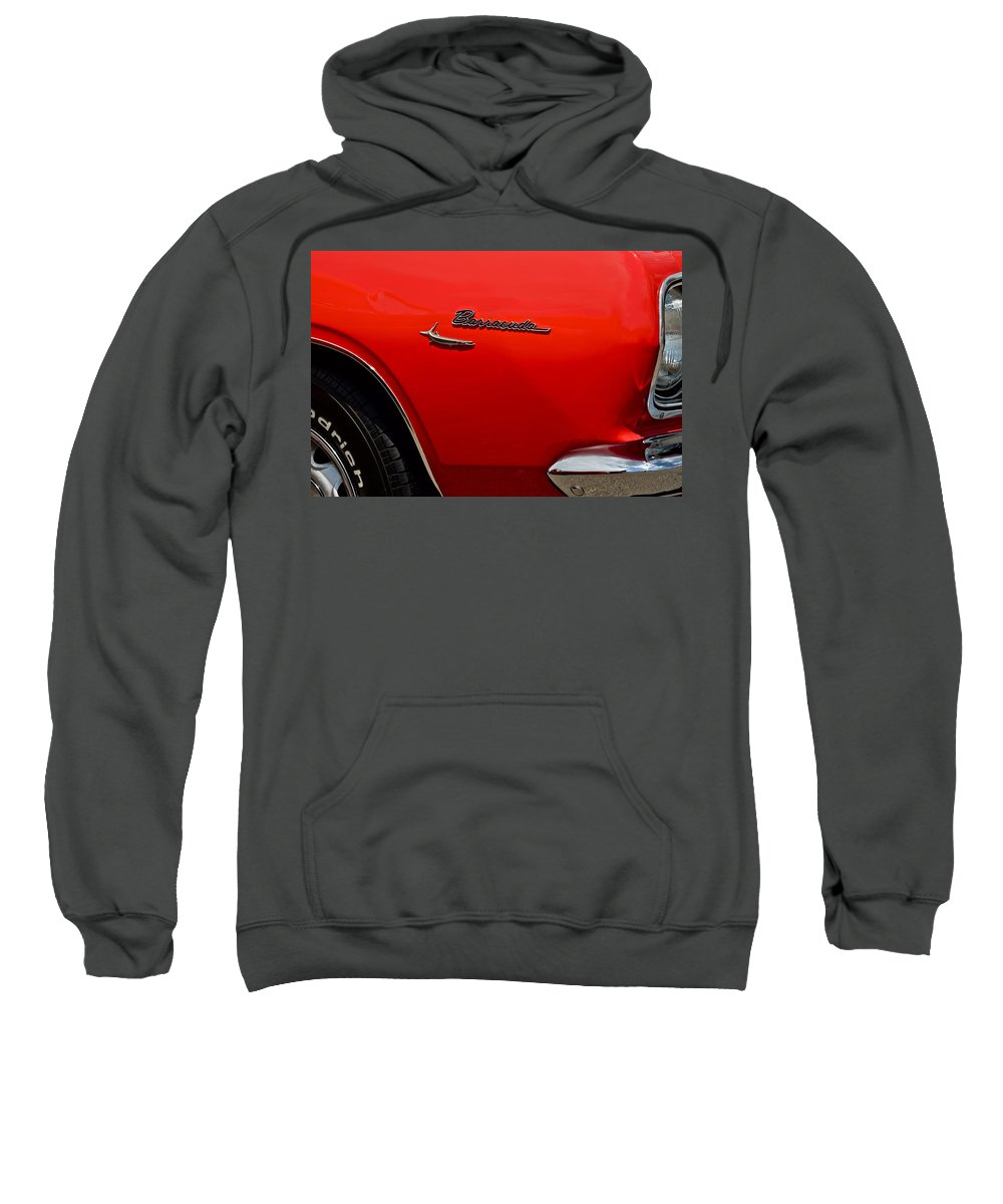 Barracuda Sweatshirt featuring the photograph Barracuda by Frozen in Time Fine Art Photography