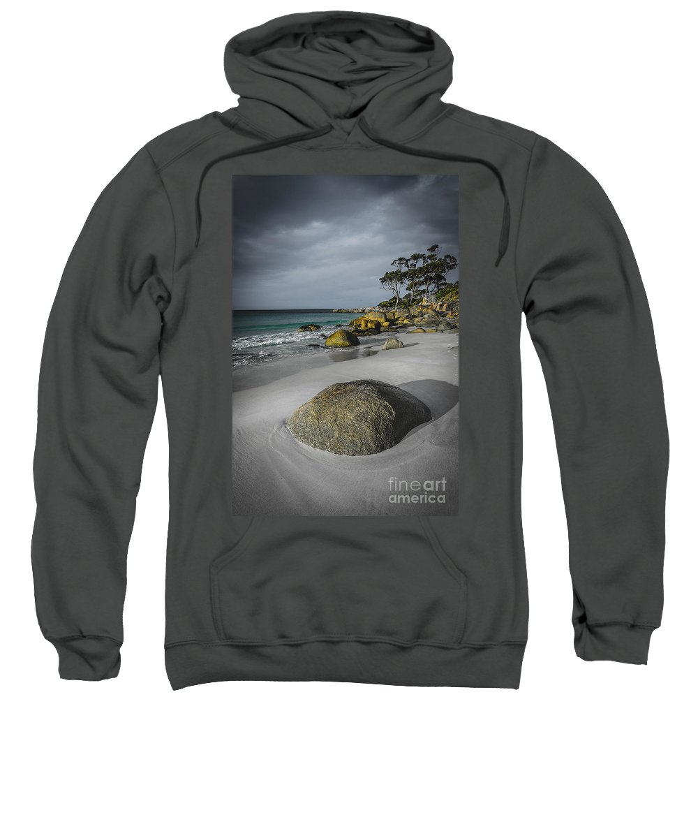 Australia Sweatshirt featuring the photograph Bay Of Fires 2 by Paul Woodford