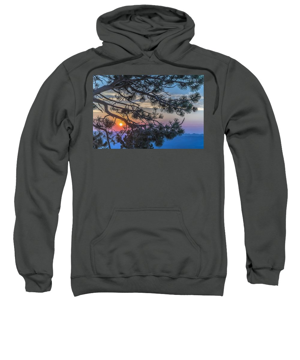 Landscape Sweatshirt featuring the photograph Pastel Morning by Maria Coulson