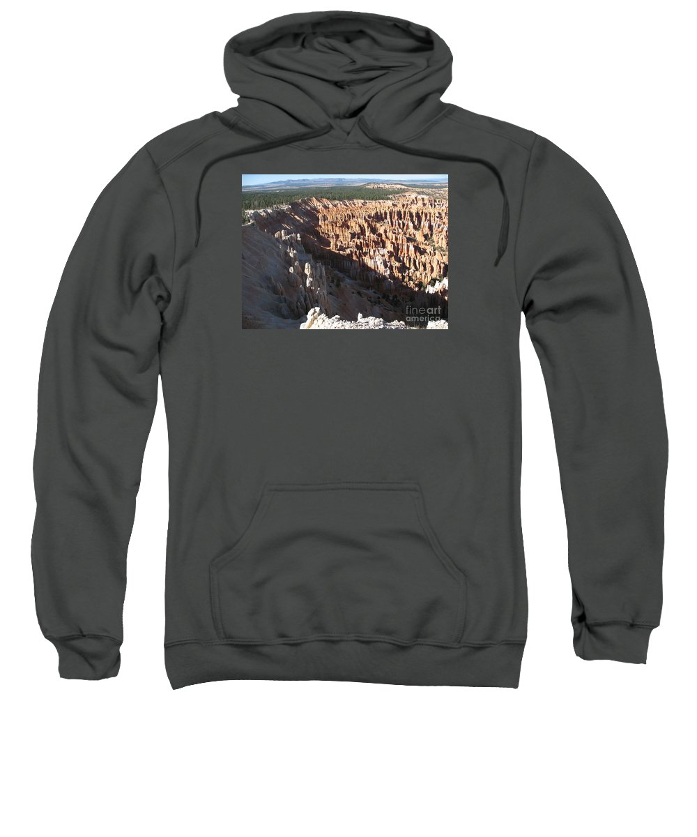 Amphitheater Sweatshirt featuring the photograph Cedar Breaks - Beautiful Nature by Christiane Schulze Art And Photography