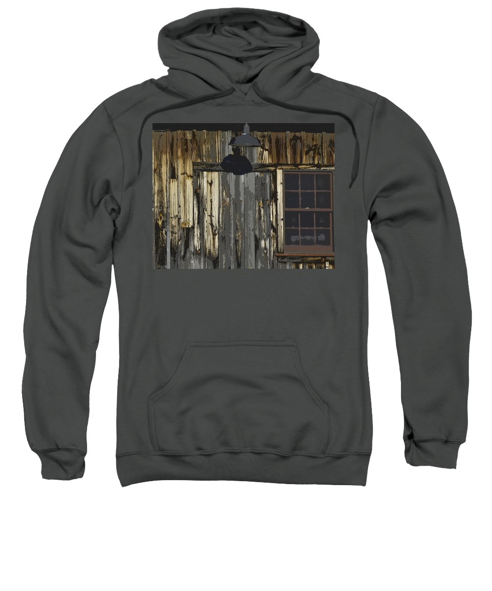 Pillow Sweatshirt featuring the photograph Becket Barn by James Ekstrom