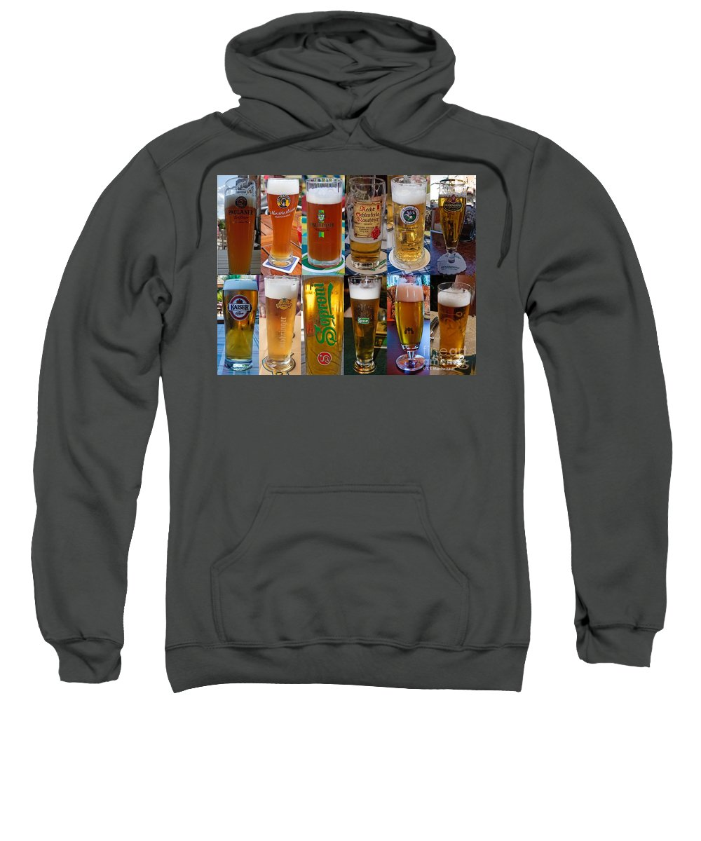 Beer Sweatshirt featuring the photograph Beers Of Europe by Thomas Marchessault