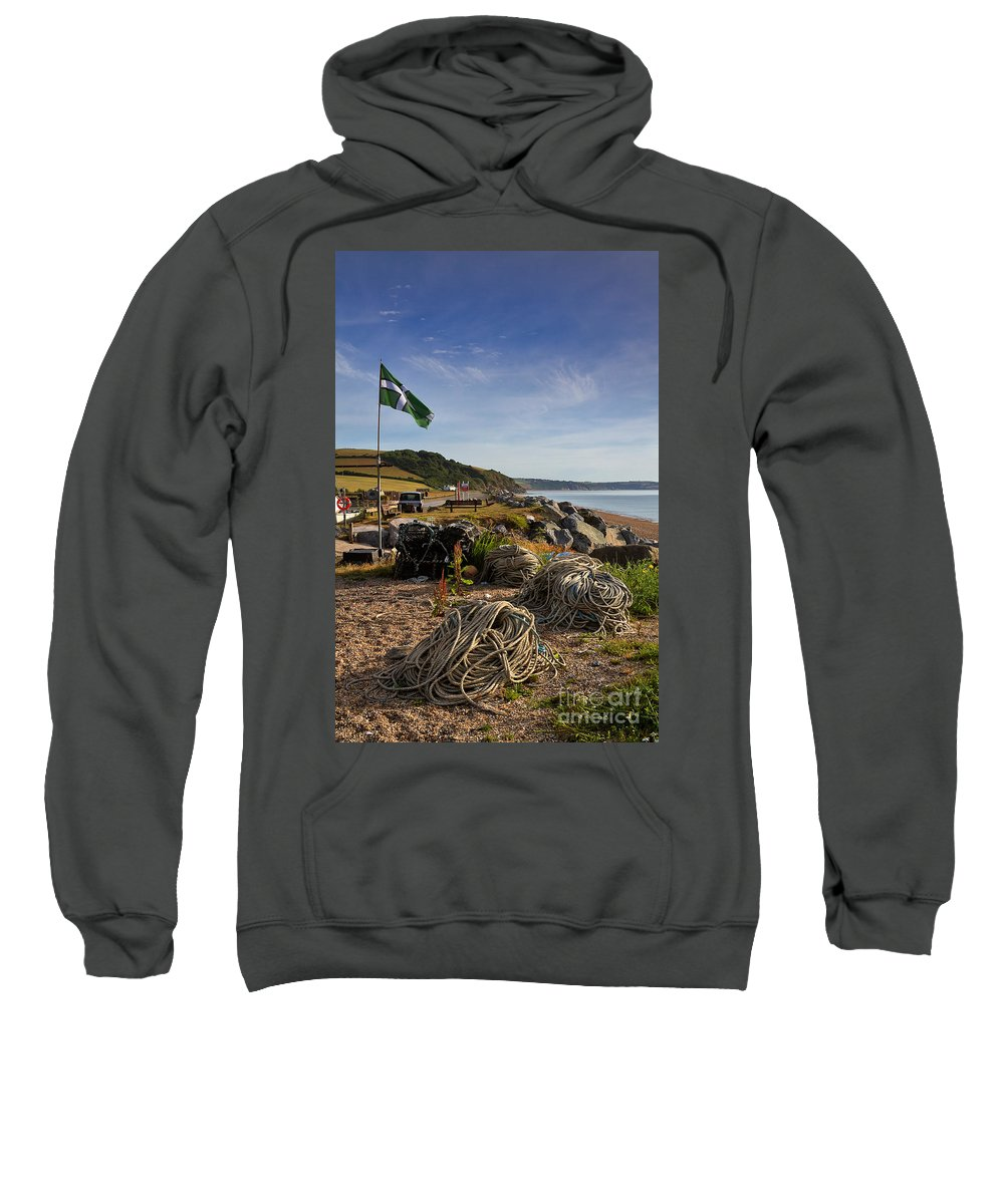 Travel Sweatshirt featuring the photograph Beesands by Louise Heusinkveld