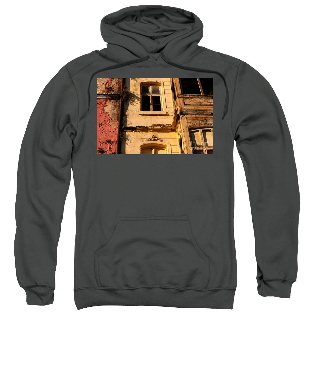 Istanbul Sweatshirt featuring the photograph Beyoglu Old House 01 by Rick Piper Photography