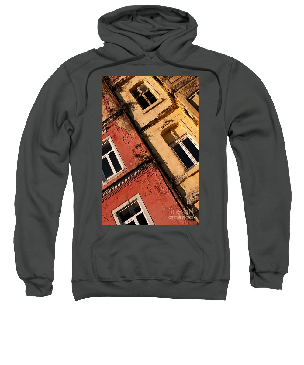 Istanbul Sweatshirt featuring the photograph Beyoglu Old Houses 03 by Rick Piper Photography