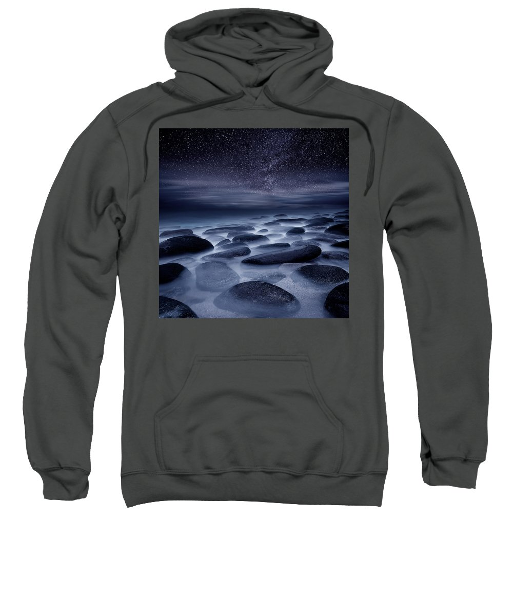 Night Sweatshirt featuring the photograph Beyond Our Imagination by Jorge Maia