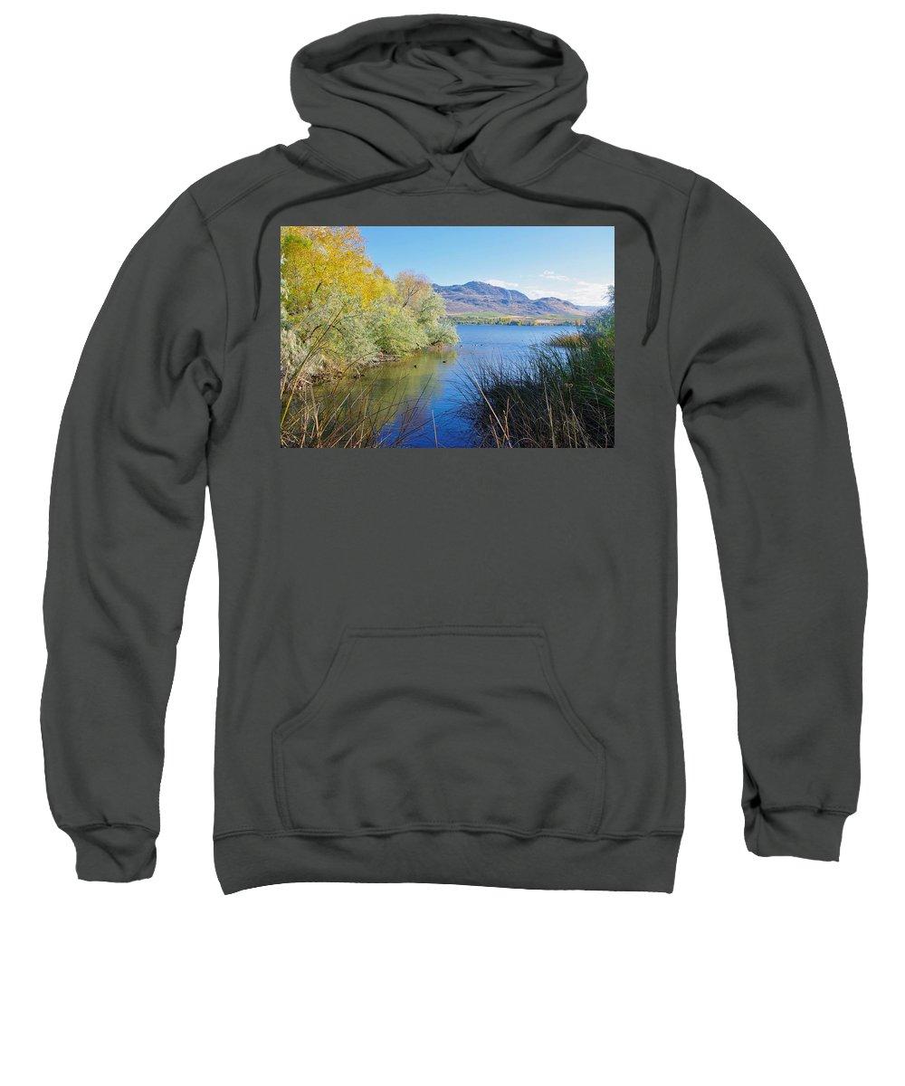 Bird Sweatshirt featuring the photograph Bird Haven by John Greaves