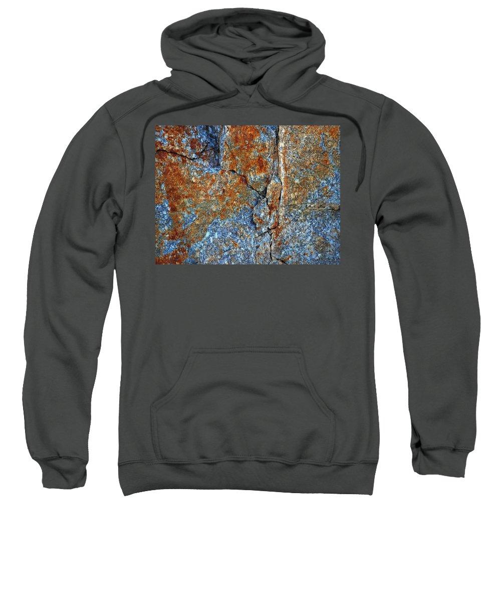 Lehto Sweatshirt featuring the photograph Bleeding Stone by Jouko Lehto
