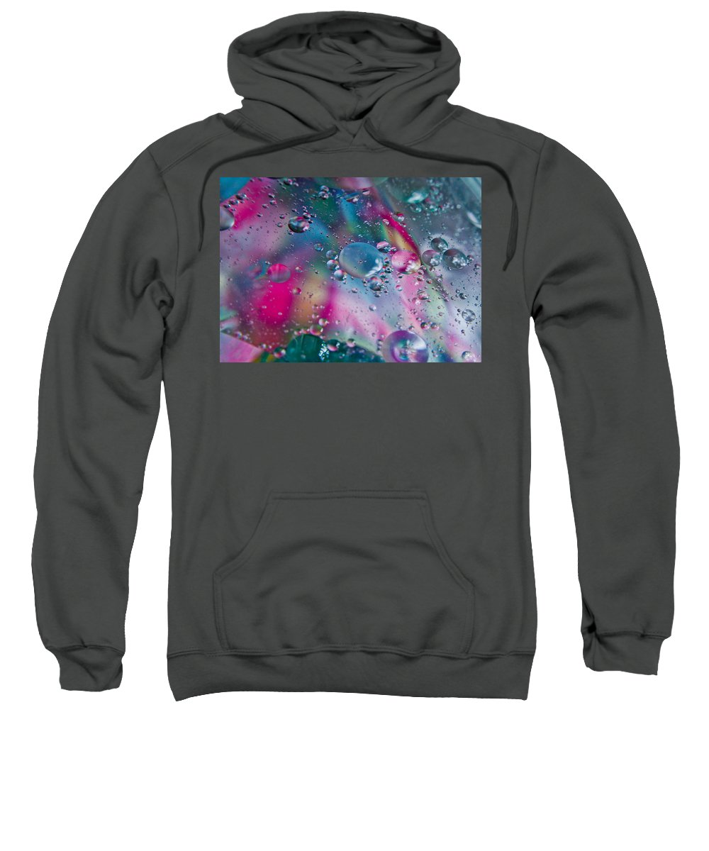 Abstract Sweatshirt featuring the photograph Bliss by Sara Frank