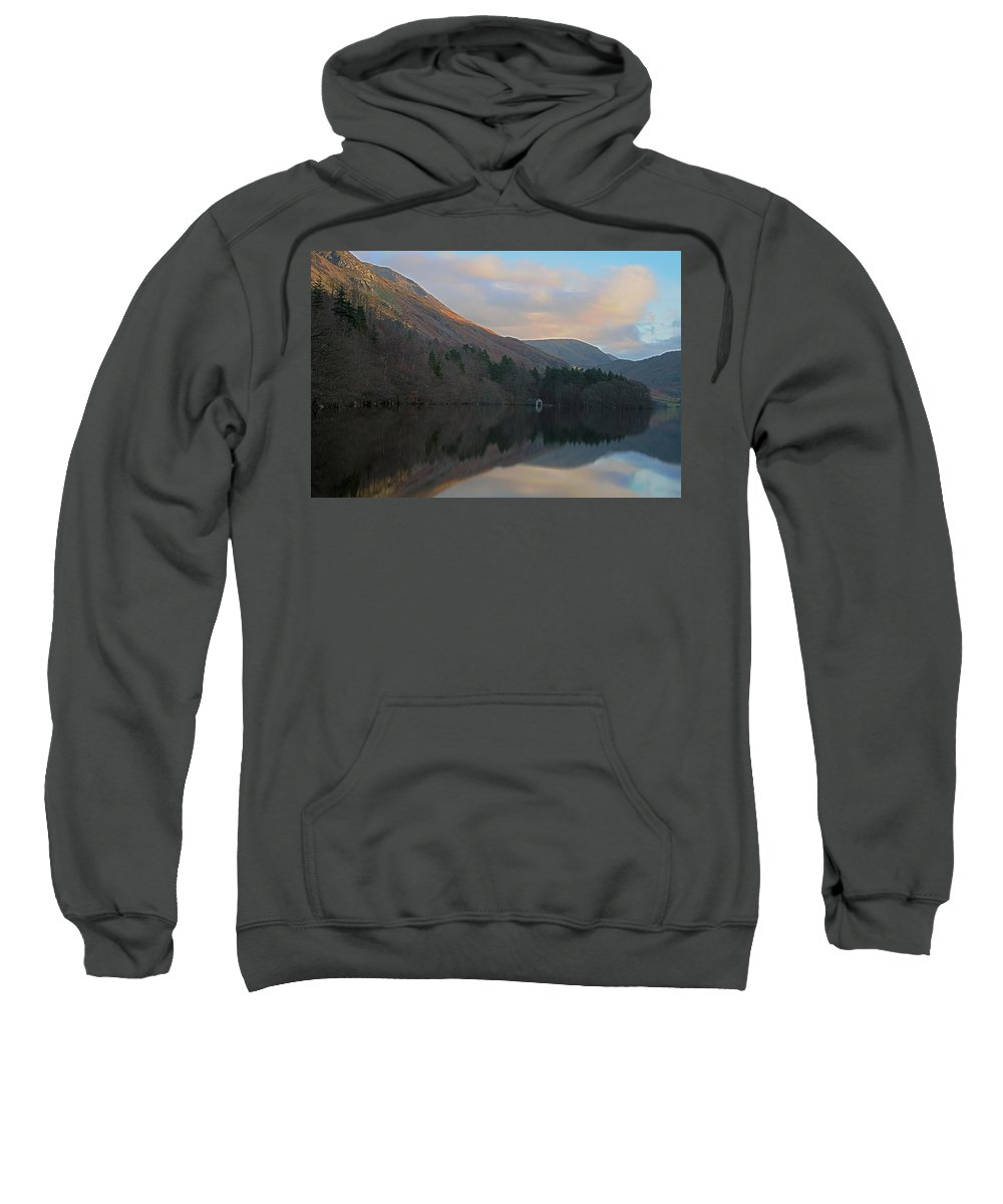 Lake District Sweatshirt featuring the photograph Boat House At Crummock by Jacqui Hall