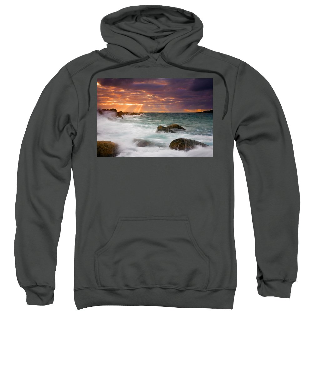 Dawn Sweatshirt featuring the photograph Breathtaking by Mike Dawson
