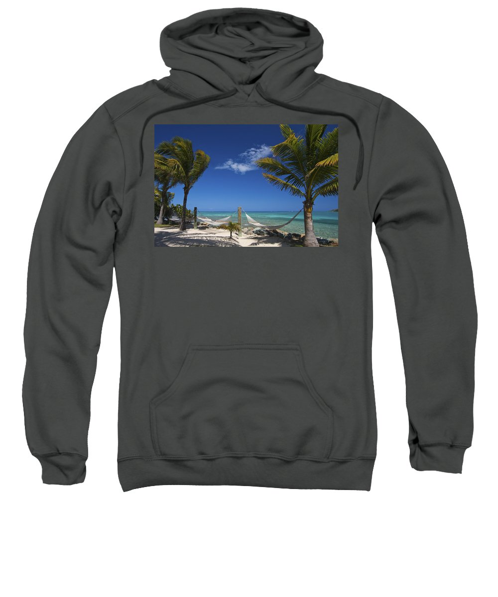 3scape Sweatshirt featuring the photograph Breezy Island Life by Adam Romanowicz
