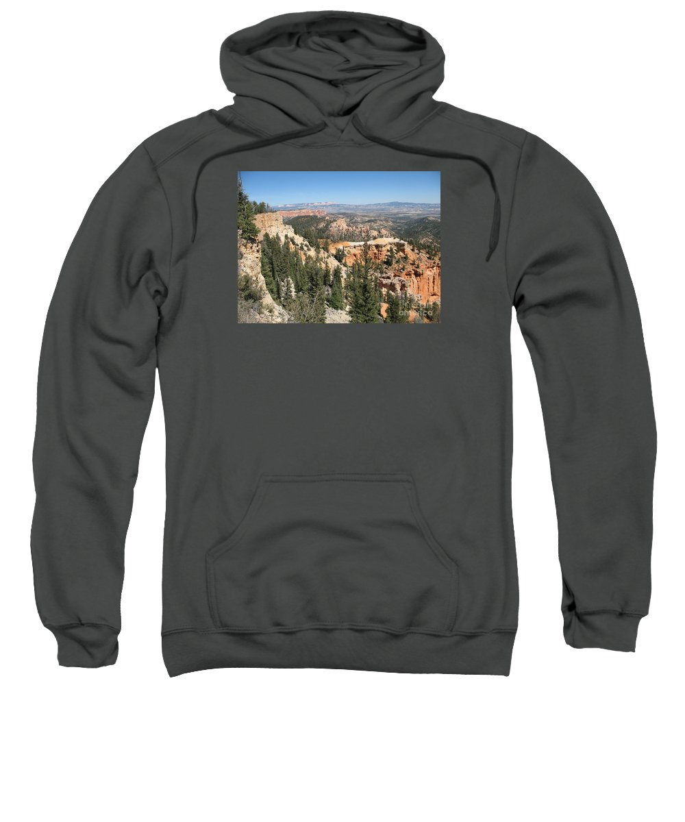 Rocks Sweatshirt featuring the photograph Bryce Canyon Overlook by Christiane Schulze Art And Photography