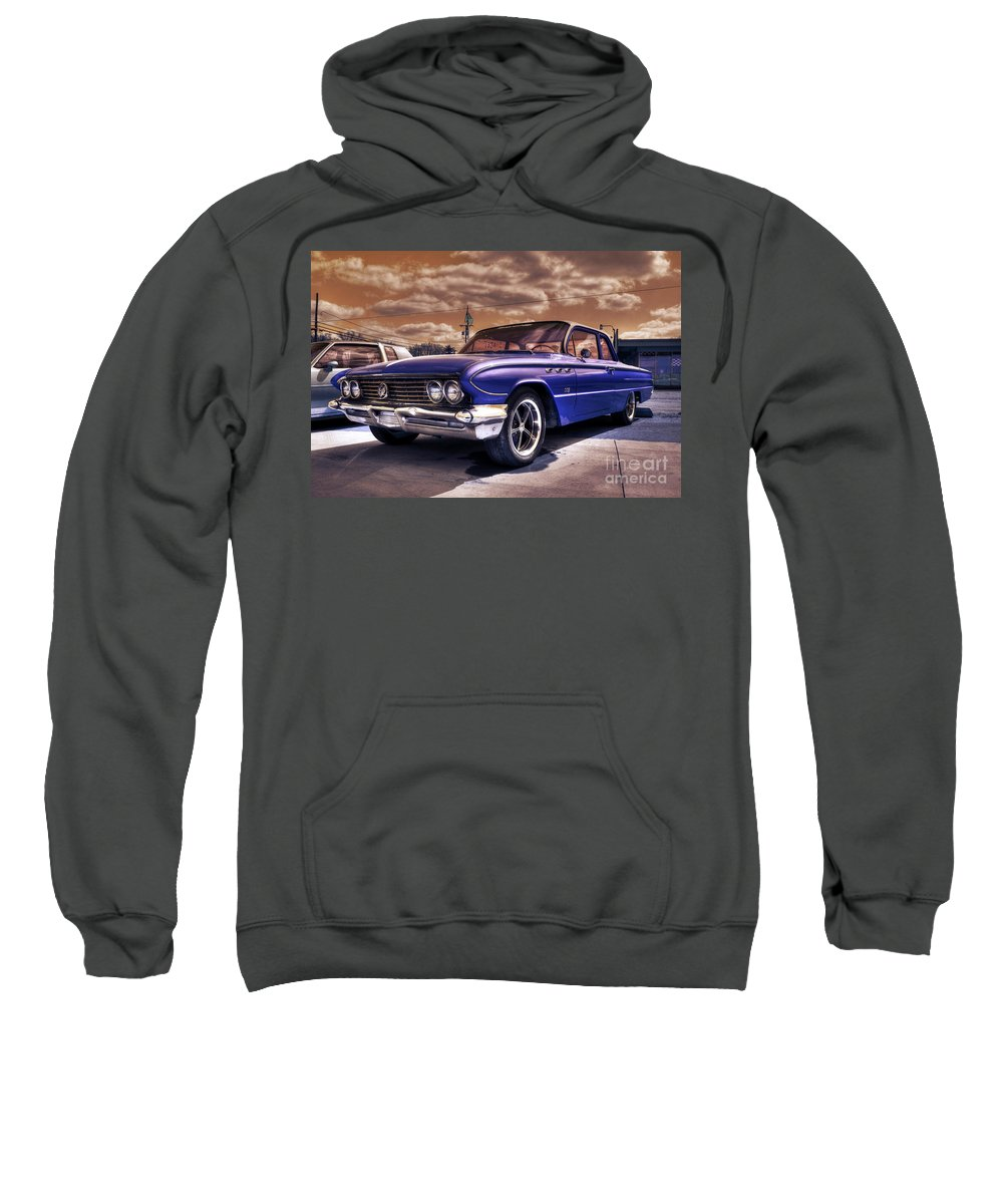 Buick Sweatshirt featuring the photograph Buick Invicta by Rob Hawkins