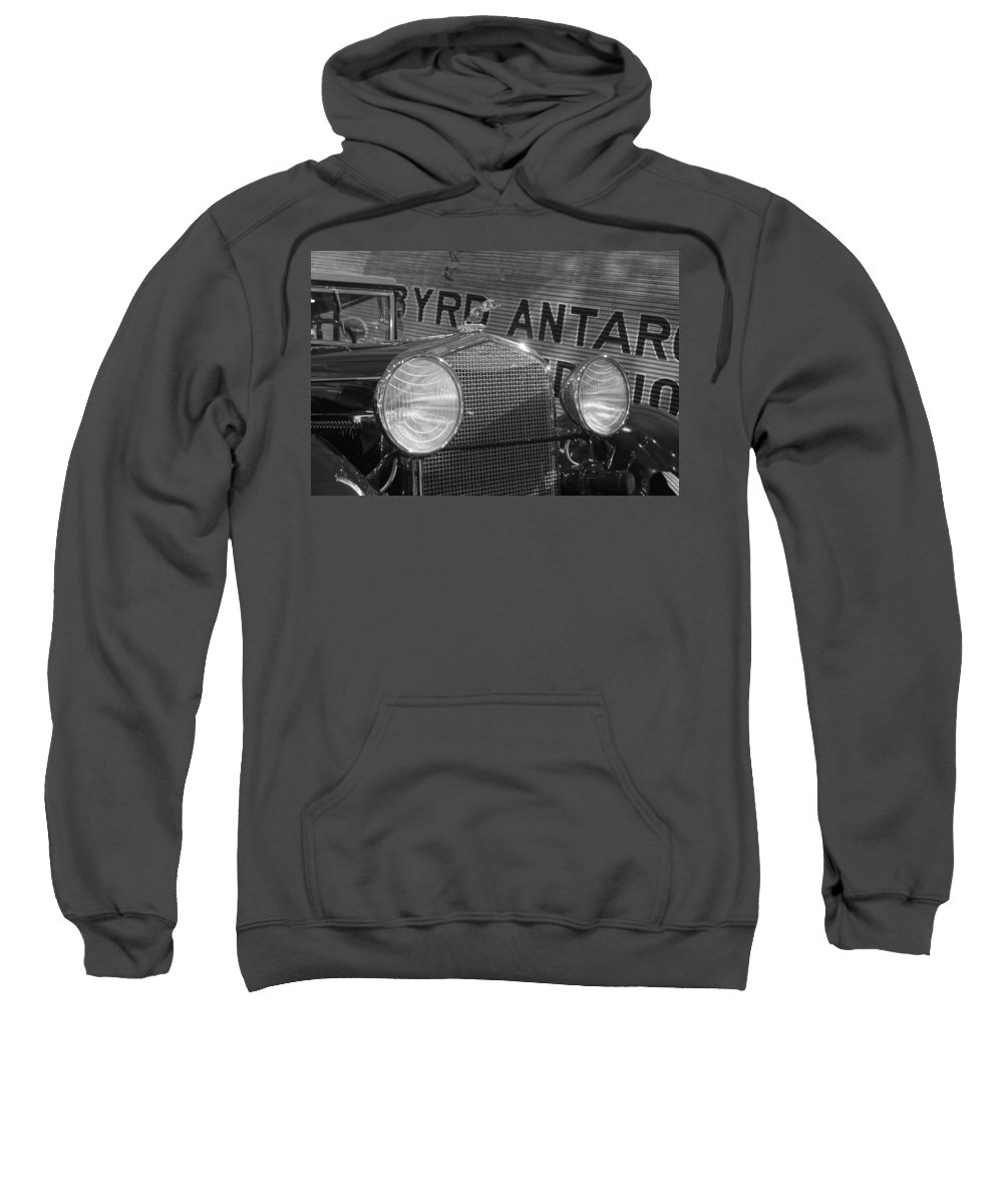 Sweatshirt featuring the photograph By Land And Air... 30s Style by Daniel Thompson