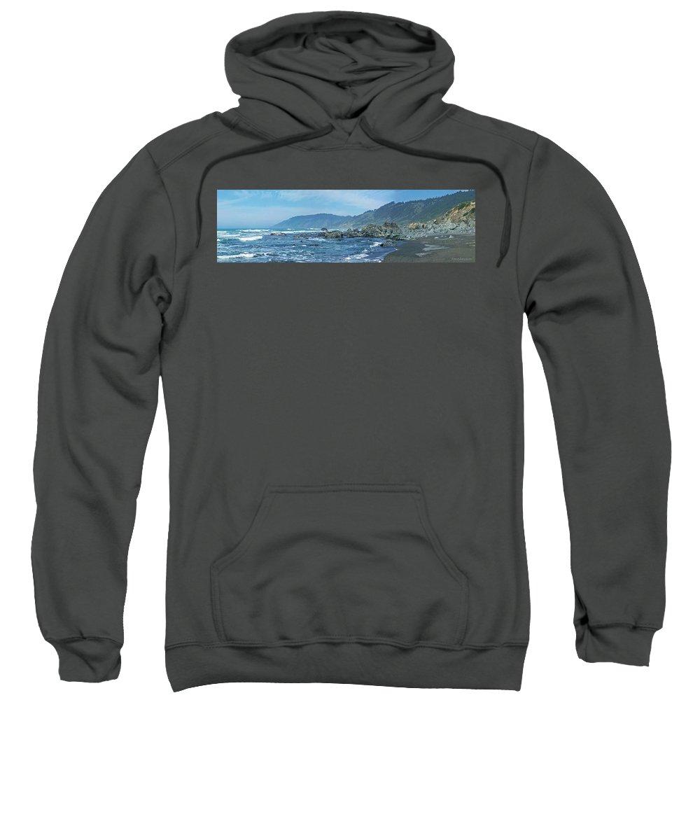 Beaches Sweatshirt featuring the photograph California Beaches 3 by Harold Zimmer