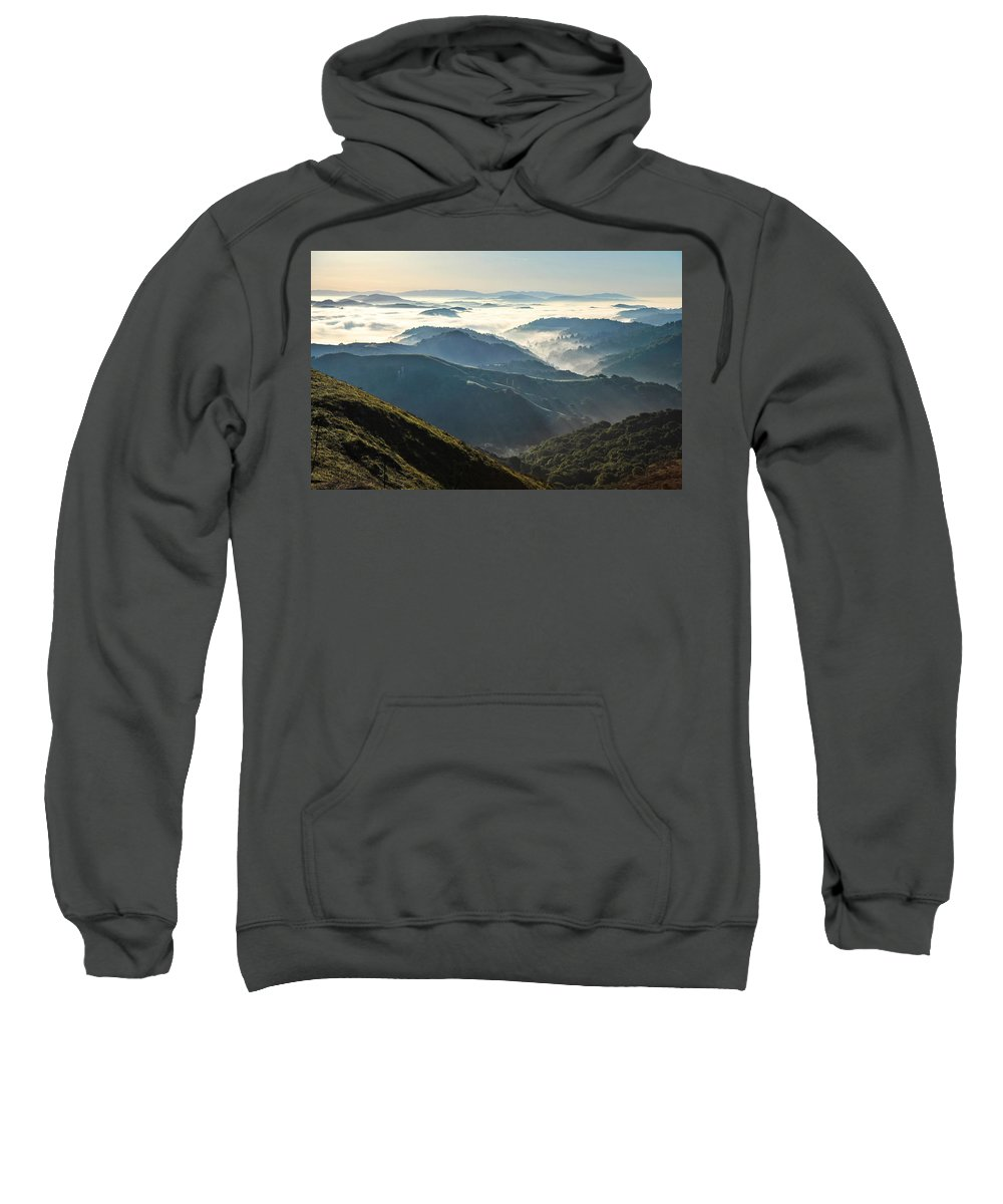 Canyon Sweatshirt featuring the photograph Canyon View by Hugh Stickney
