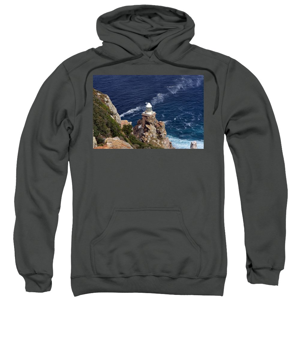 Africa Sweatshirt featuring the photograph Cape Of Good Hope Lighthouse by Aidan Moran