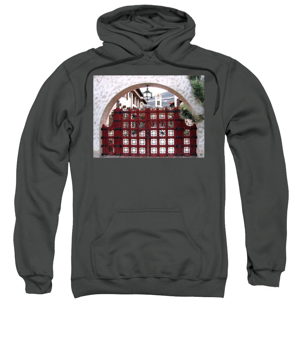 Castle Gate Sweatshirt featuring the photograph Castle Gate by Will Borden