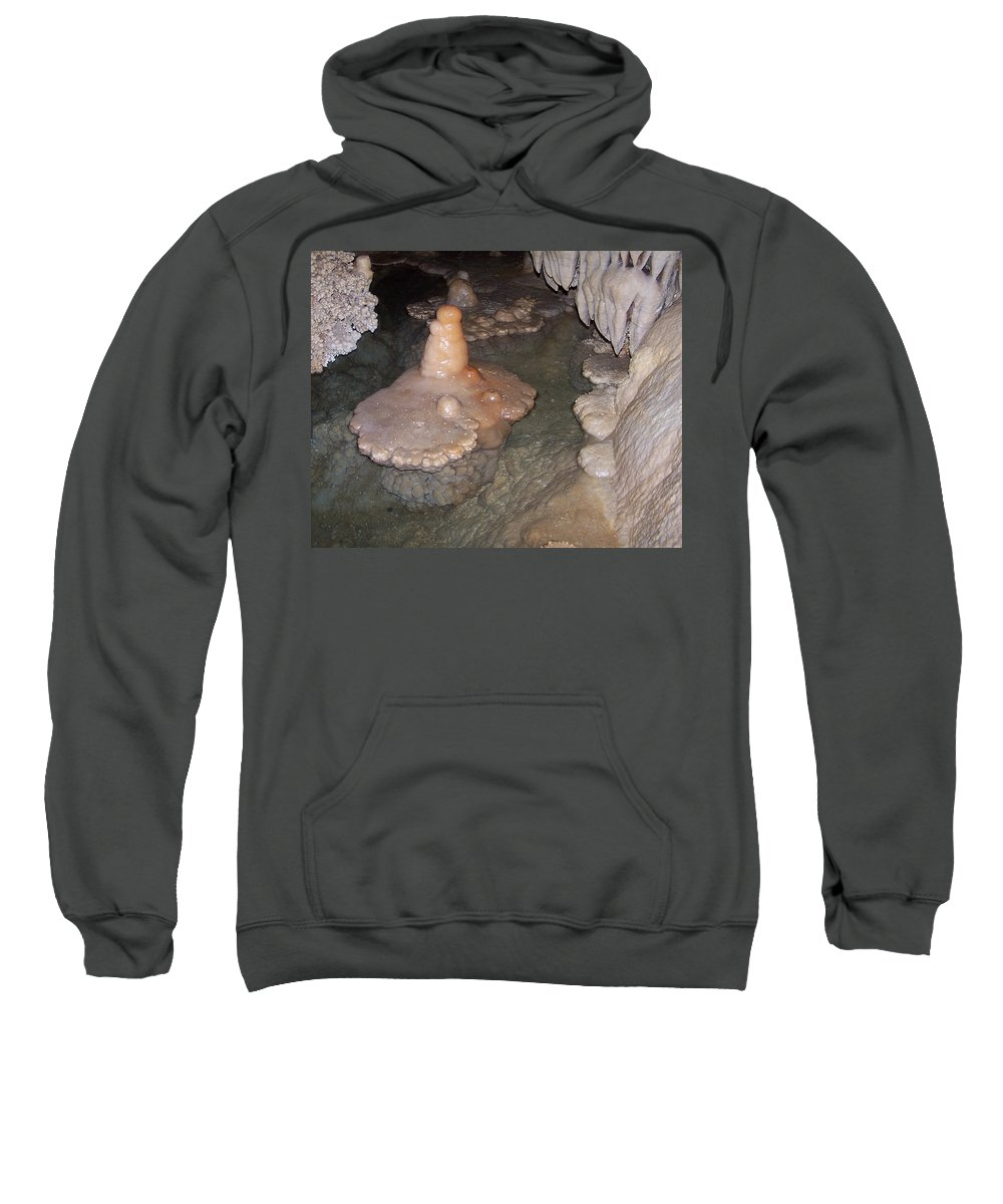 Cave Formations Sweatshirt featuring the photograph Cave Formations 52 by Ernie Echols