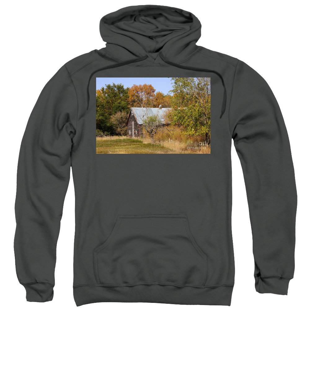 Barn Sweatshirt featuring the photograph Changing Colors by Lori Tordsen