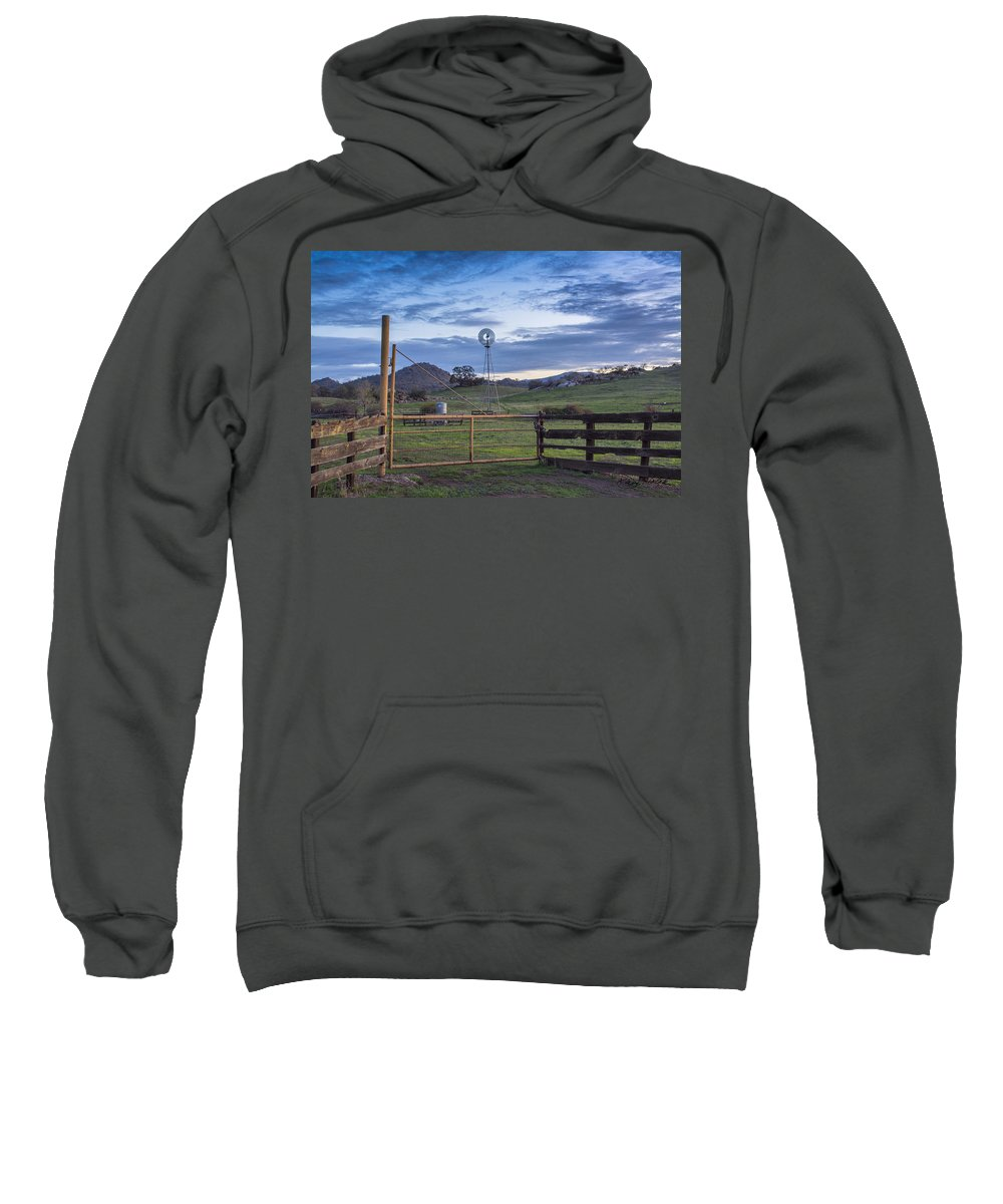 Windmill Sweatshirt featuring the photograph Changing With The Wind by Doug Holck