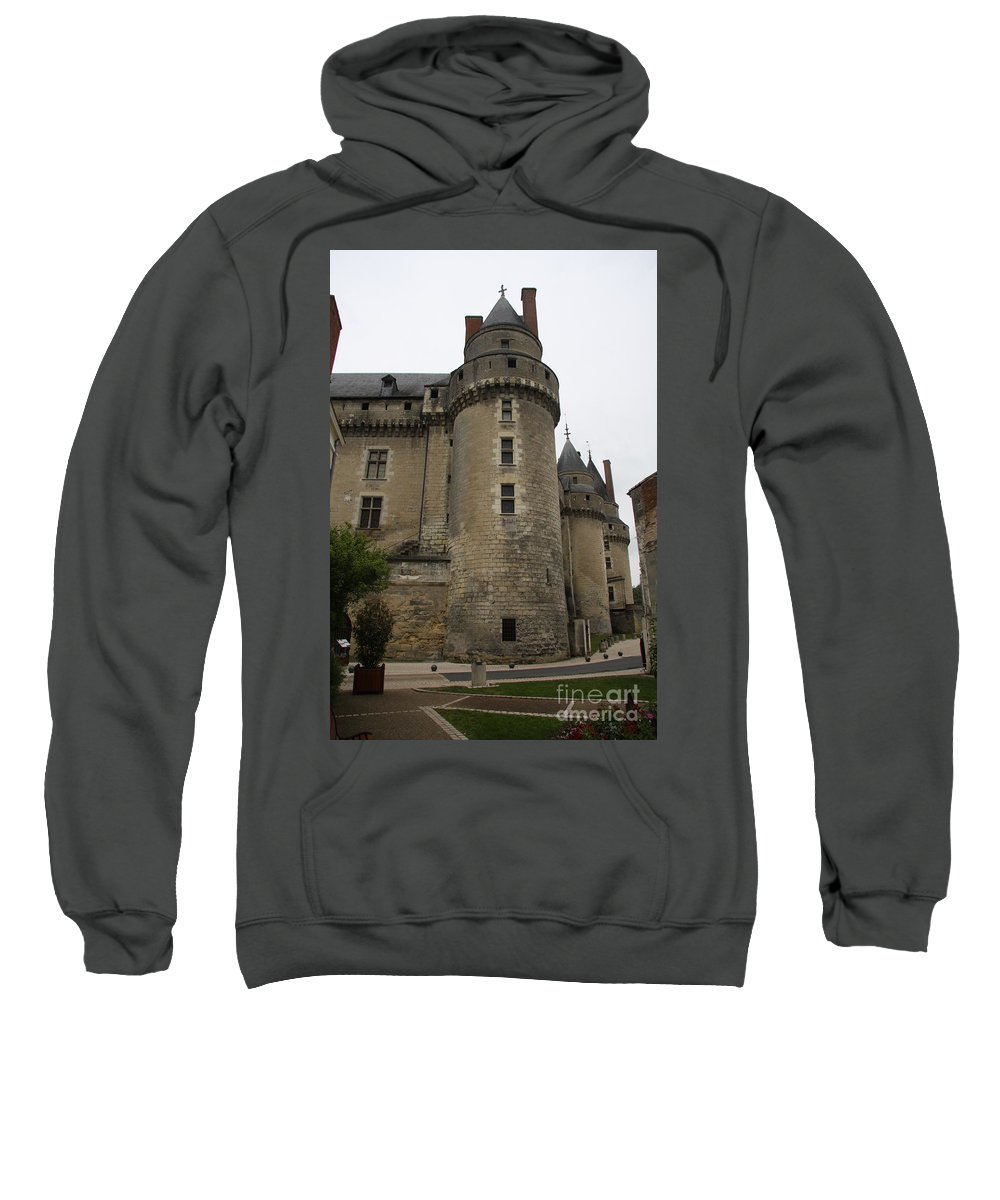 Castle Sweatshirt featuring the photograph Chateau De Langeais - France by Christiane Schulze Art And Photography