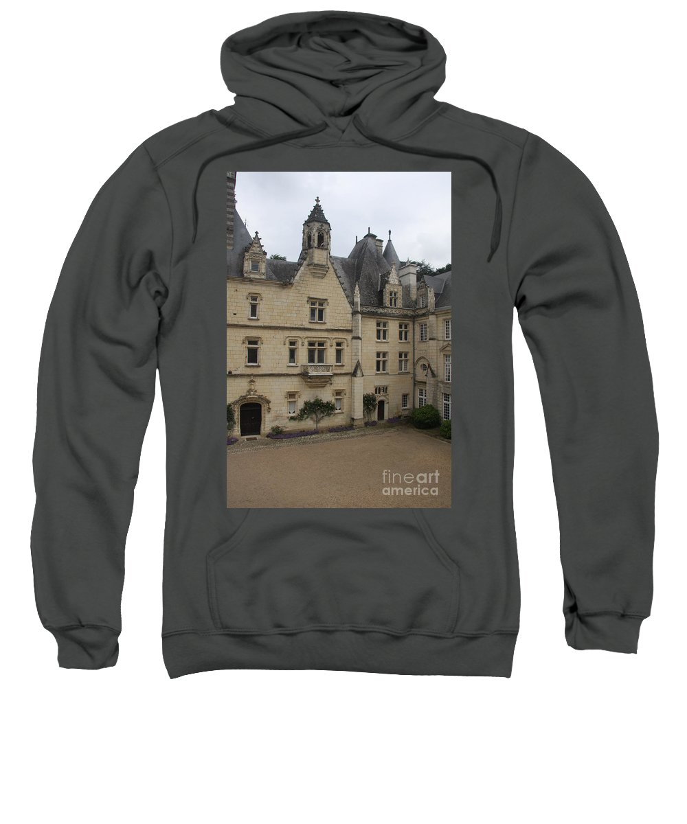 Palace Sweatshirt featuring the photograph Chateau D'usse by Christiane Schulze Art And Photography