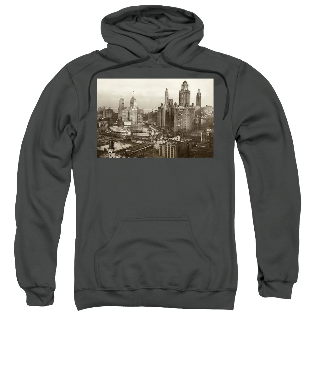 1931 Sweatshirt featuring the photograph Chicago, 1931 by Granger