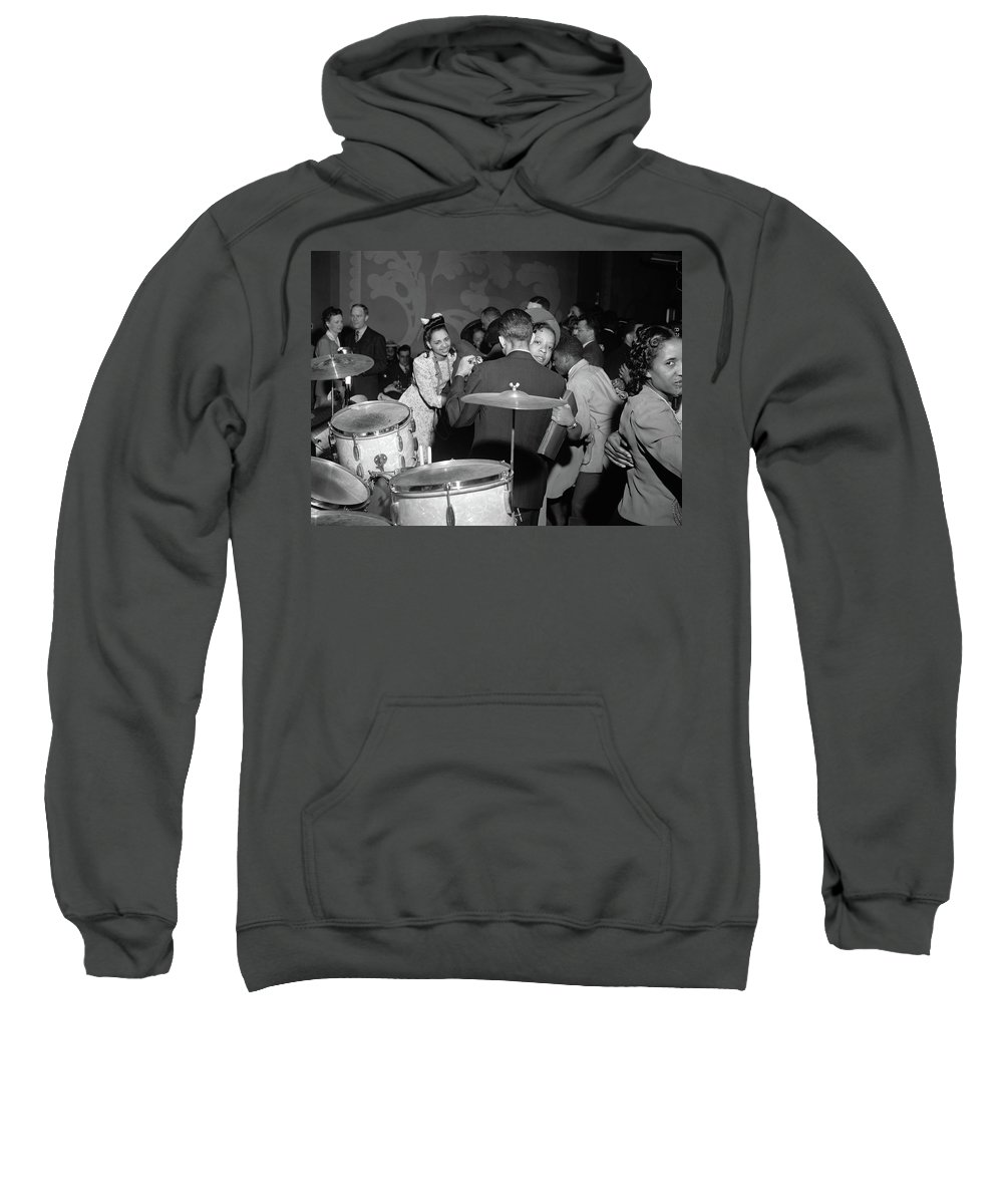 1942 Sweatshirt featuring the photograph Chicago Nightclub, 1942 by Granger