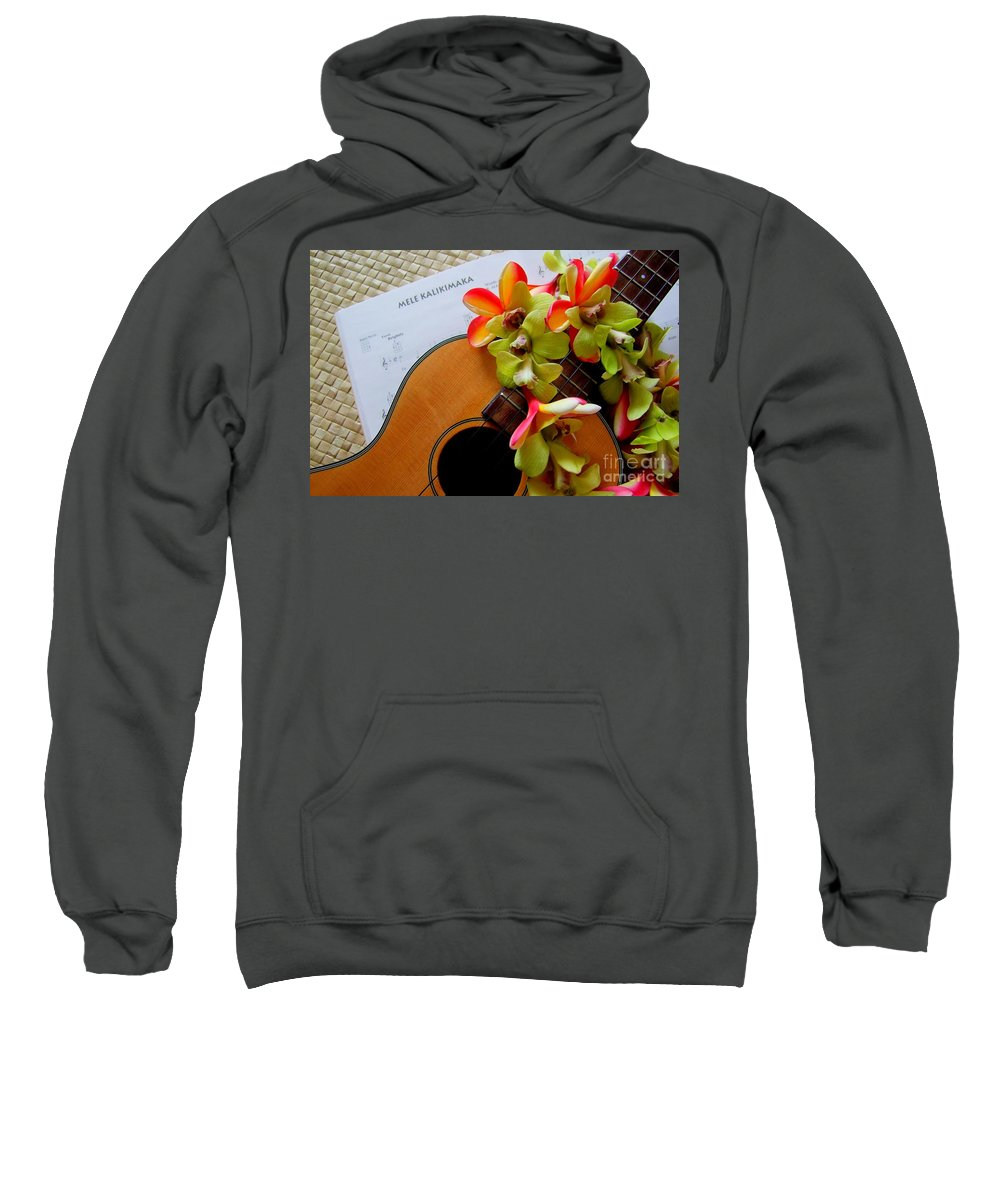Christmas Sweatshirt featuring the photograph Christmas Mele by Mary Deal