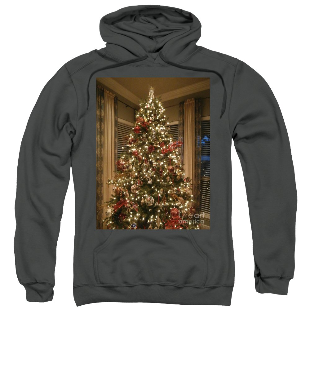 Holiday Sweatshirt featuring the photograph Christmas Past by Joseph Baril