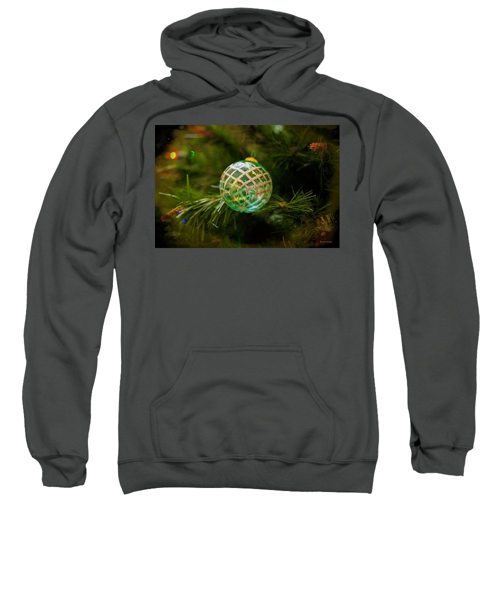 Merry Christmas Sweatshirt featuring the photograph Christmas Wish by Angela Stanton