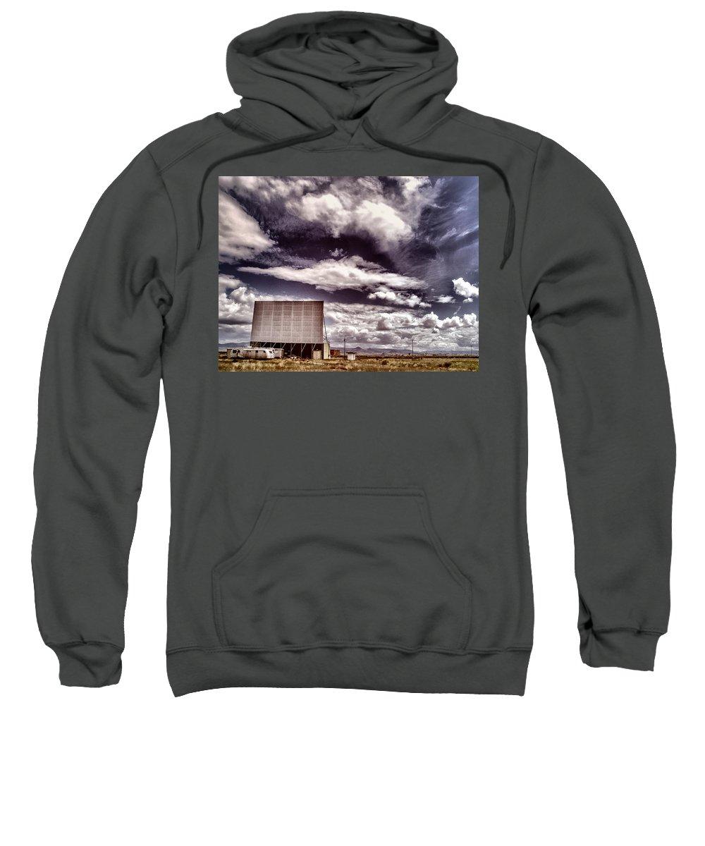Cinema Sweatshirt featuring the photograph Cinema Verite by Dominic Piperata