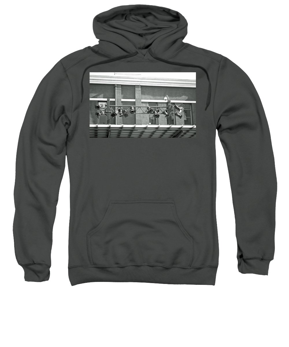Building Sweatshirt featuring the photograph City Camera's by Tikvah's Hope