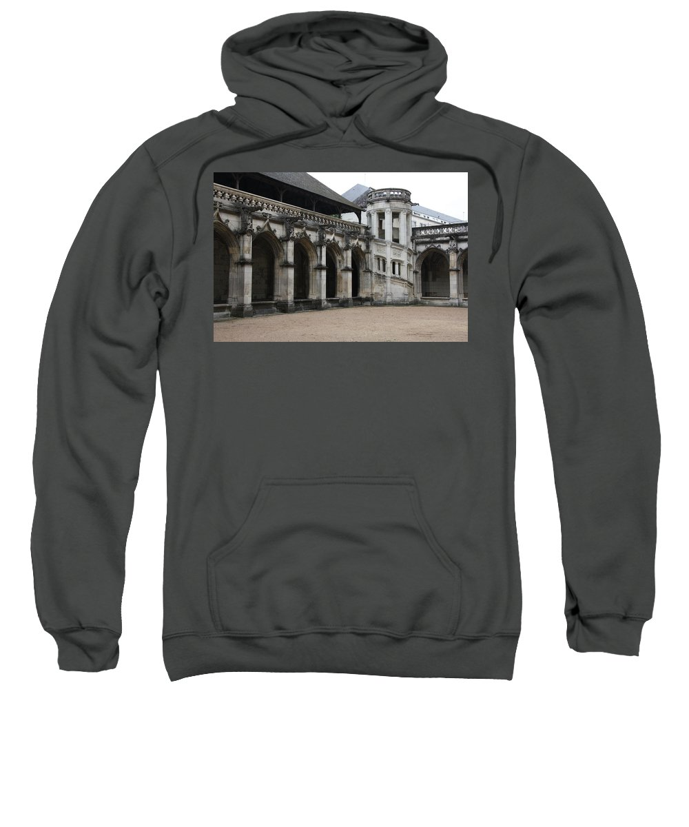 Cloister Sweatshirt featuring the photograph Cloister And Staircase Cathedral Tours by Christiane Schulze Art And Photography