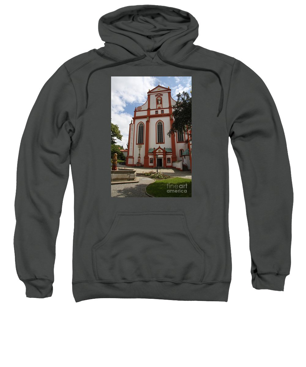 Cloister Sweatshirt featuring the photograph Cloister - St. Marienstern by Christiane Schulze Art And Photography