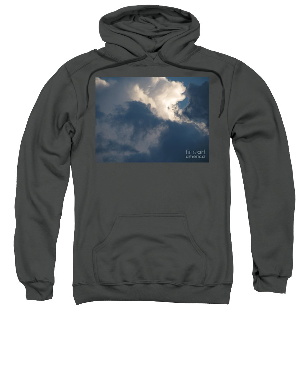 Clouds Sweatshirt featuring the photograph Cloud Explosion by Leone Lund