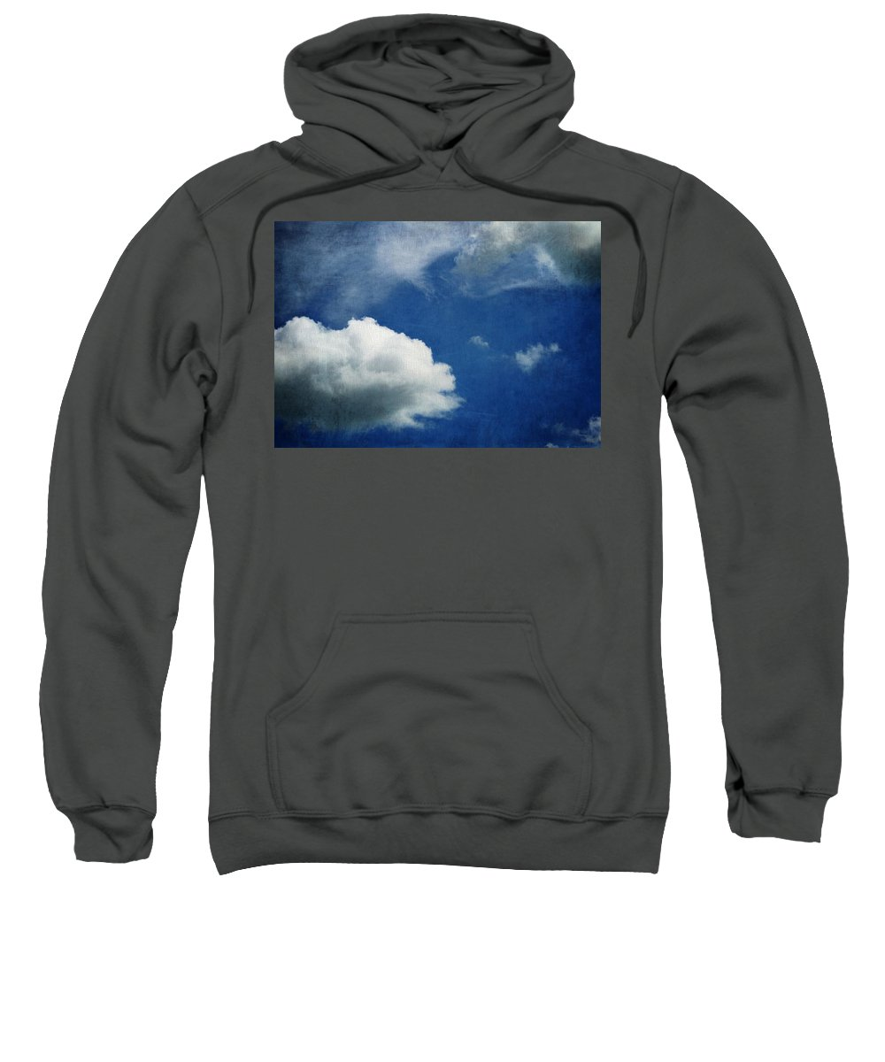 Cloud Shapes Sweatshirt featuring the photograph Cloud Shapes by Dan Sproul