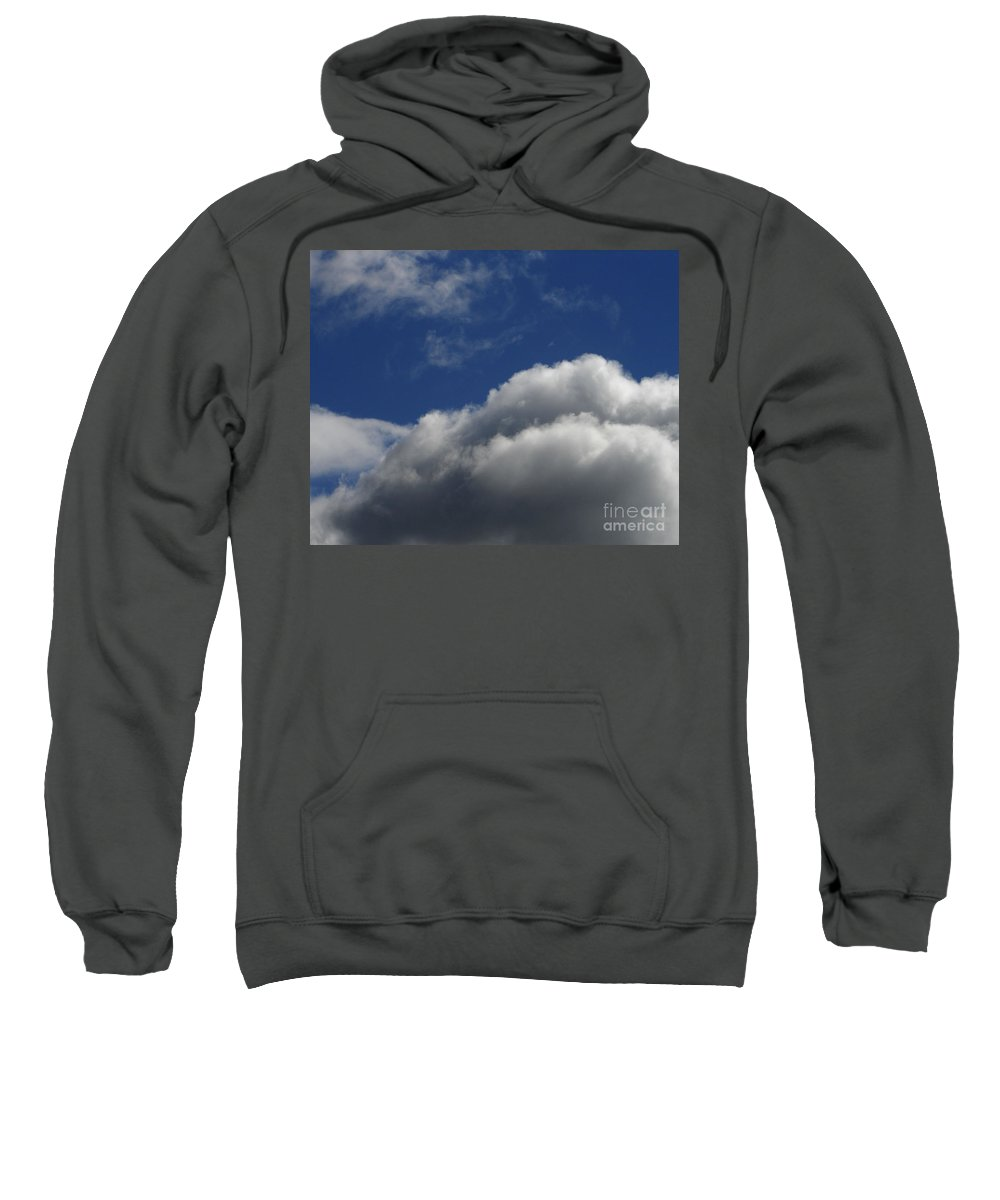 Clouds Sweatshirt featuring the photograph Clouds by Carol Lynch