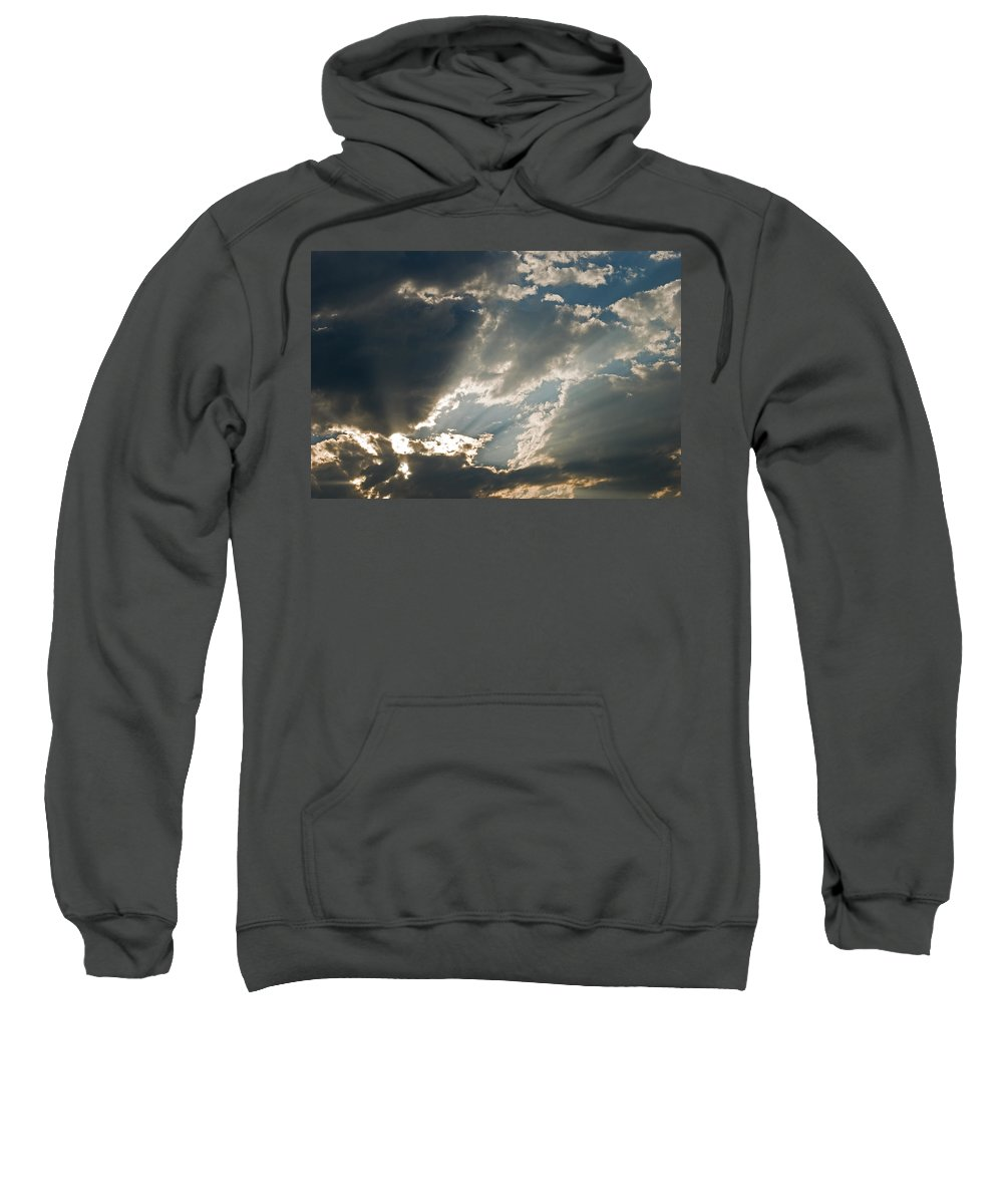 Clouds Sweatshirt featuring the photograph Clouds I by Robert VanDerWal