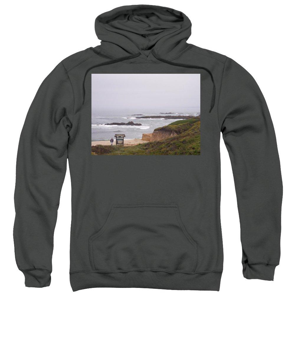 Coast Sweatshirt featuring the photograph Coastal Scene 7 by Pharris Art